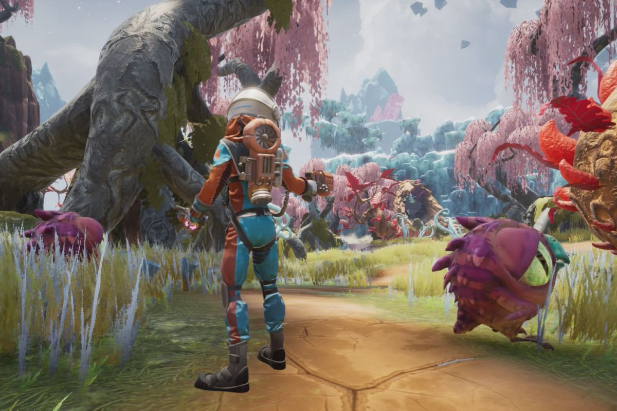 Journey to the Savage Planet gameplay