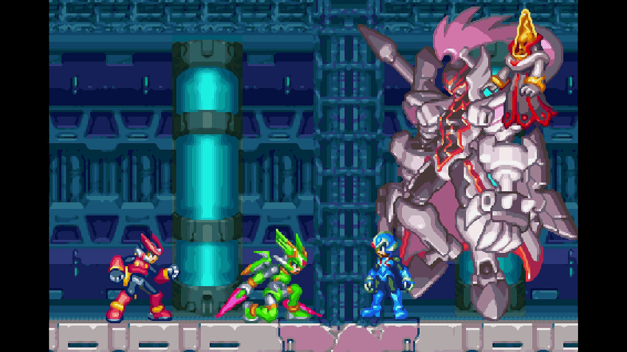 Mega Man Zero/ZX Legacy Collection gameplay