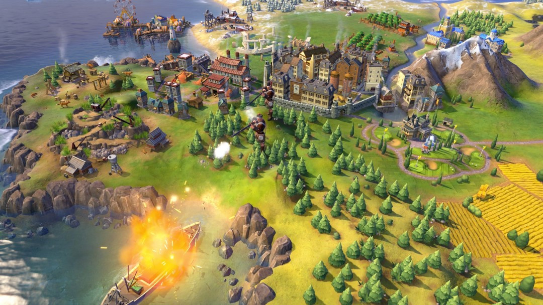Sid Meier's Civilization VI gameplay