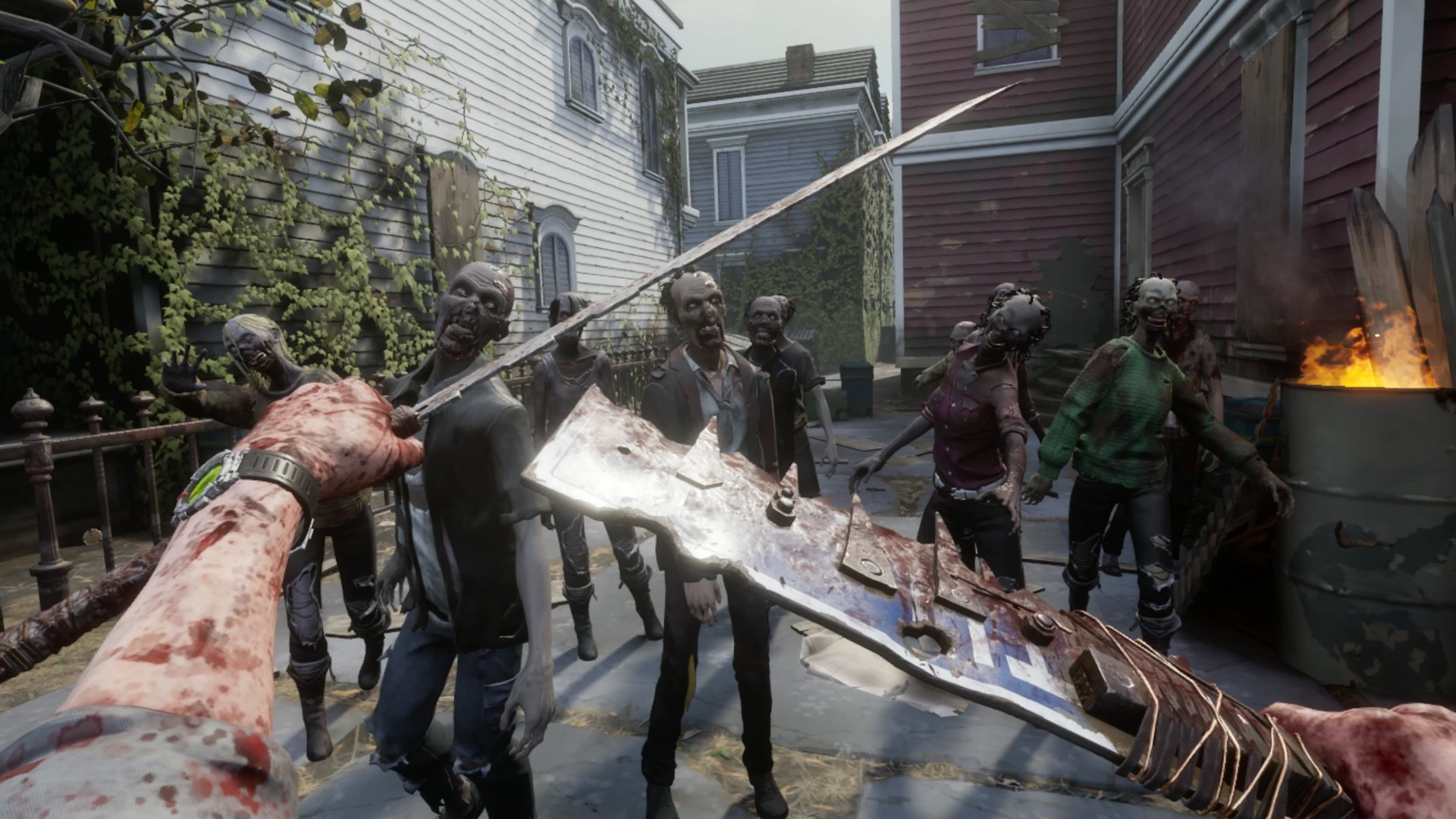 The Walking Dead: Saints and Sinners gameplay