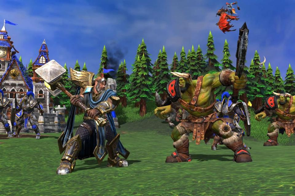 Warcraft 3: Reforged gameplay